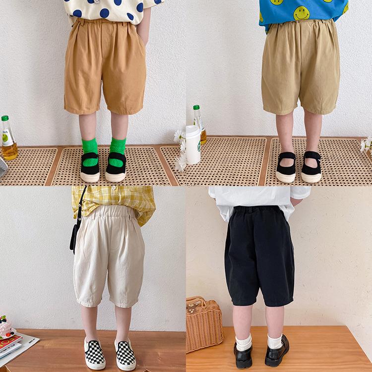 女の子 男の子ズボン 下着 七分丈パンツ  可愛いパンツ 子供服 キッズ服 春夏新作 おしゃれ