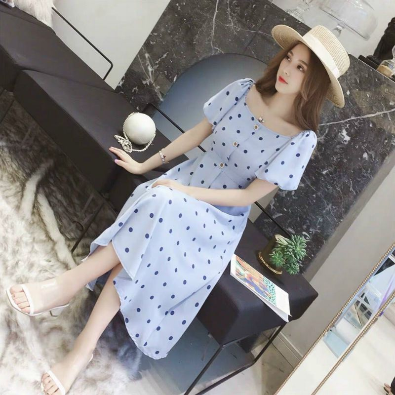 2021新作 レディースファッション ワンピース シャツ ビジネス ロング フレア 韓国風SW62696L