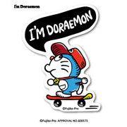ドラえもん ステッカー I'm DORAEMON スケートボード LCS-742 キャラクター 人気 公式
