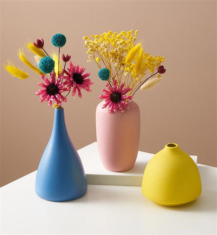 満足度99% 陶磁器 花瓶 装飾 家具 リビングルーム ドライフラワー フラワーアレンジメント