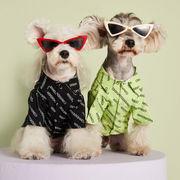 秋新作 ペット用品 犬猫の服 人気 ファッション 小中型犬服 犬猫洋服 ドッグウェア 犬服 ペット服 シャツ