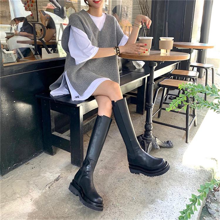 韓国ファッション レトロ ニット タンクトップ ベスト シンプル 暖かい