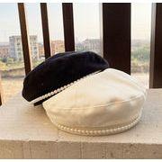 INSスタイル 帽子 キャップ ハット 秋冬 お出かけ  UVカット ベレー帽