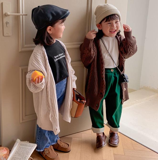 シャツ ニット 秋 新作 長袖 ロングタイプ セーター 女の子 韓国スタイル アウター 男の子 上着