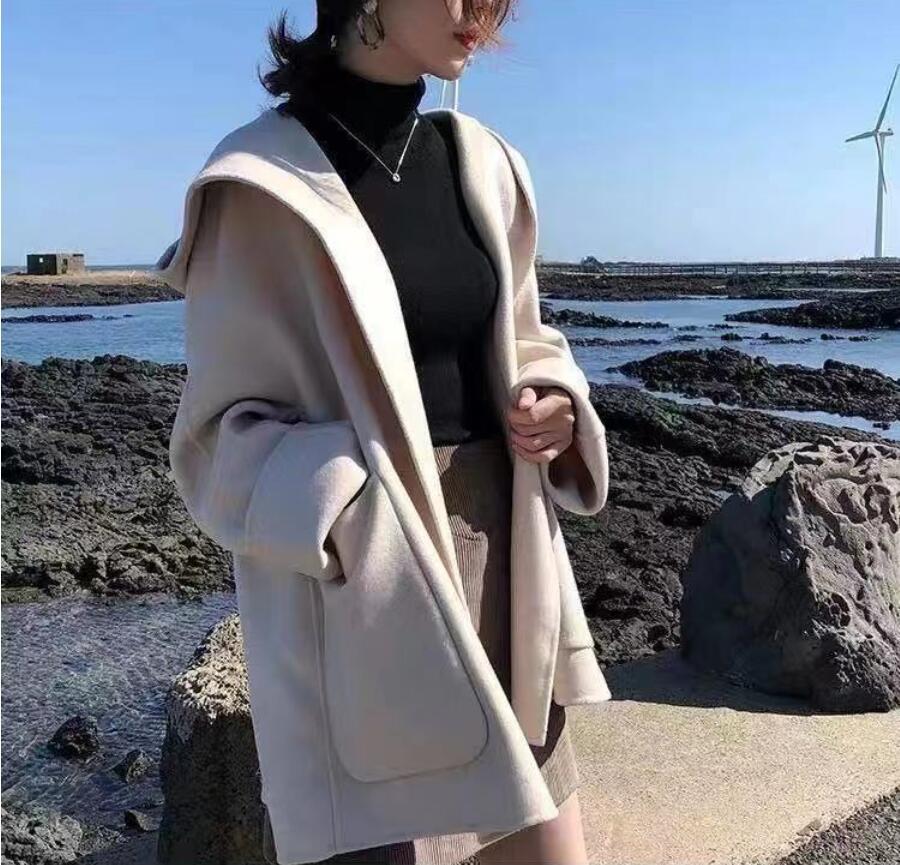 秋冬新作 新しいデザイン 韓国風 コート 女 カーディガン 何でも似合う