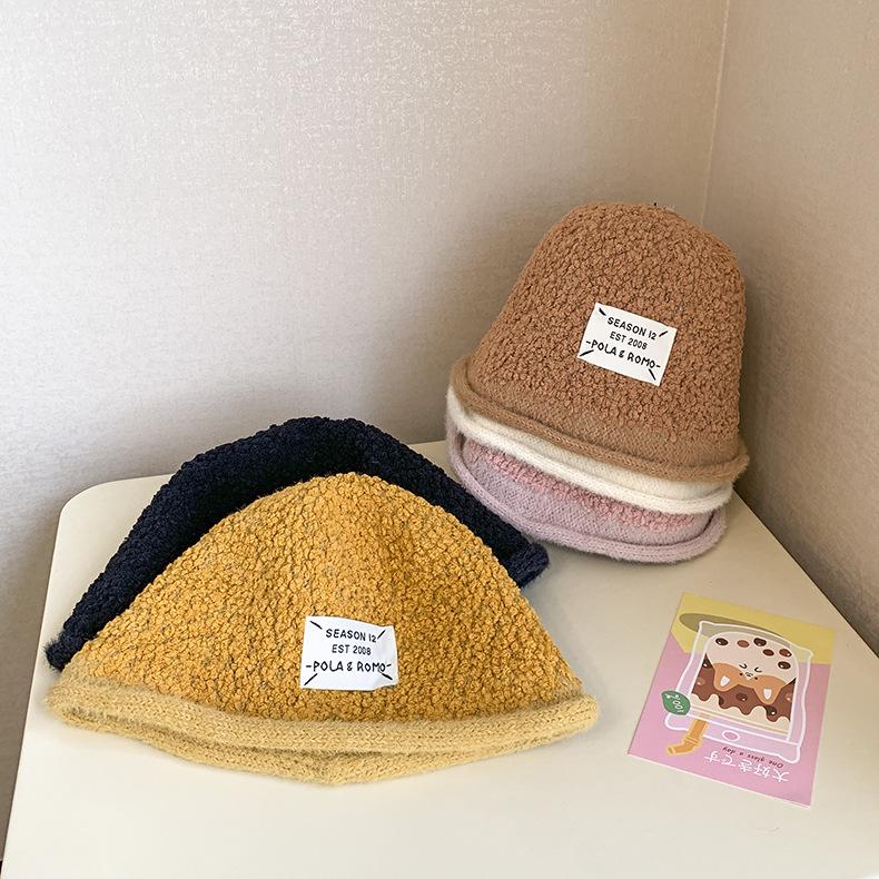帽子 キャップ キッズ 子ども 秋冬 暖か シンプル 英字 トレンド カジュアル 人気
