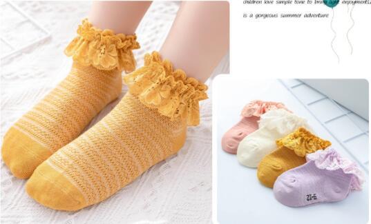 子供 女の子 かわいい  ソックス 靴下 足袋 レース