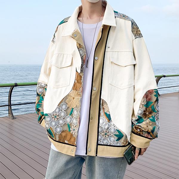 ユニセックス メンズ ジャケット アウター カジュアル コート 大きいサイズ ストリート系 渋谷風☆