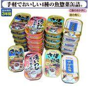 キョクヨー お魚惣菜缶詰 さば照焼 焼いわし さんま蒲焼 さば塩焼 4種×各6缶
