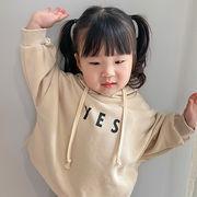 【KID】韓国風子供服 ベビー服  男女兼用 おしゃれ 長袖 トップス Tシャツ