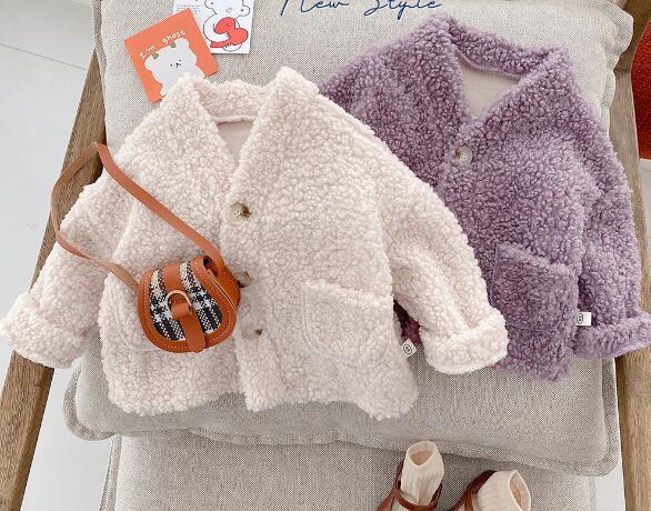 子供服 アウター キッズ 幼児 秋冬 暖か シンプル カジュアル かわいい トレンド 人気