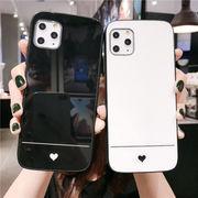 iPhone ケース iPhone12 Pro Max ケース ガラス iPhoneXR カバー