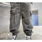 秋冬は男の子のズボンかわいい子供服カジュアルパンツを作ります 裏毛付き
